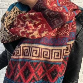 Kleurrijke Bohemian Sjaals