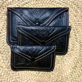 Boho Portemonnee ❤ Zwart