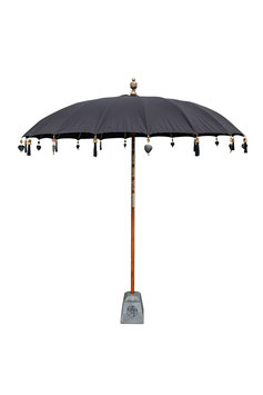 Luxe Boho Bali Parasol  ❤ Zwart