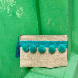 Pompom Seagreen ❤ Cover