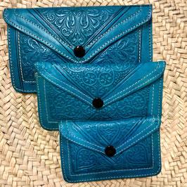 Boho Portemonnee ❤ Blauw