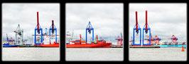 """Fotokunst Serie """"Hamburg Hafen"""""""