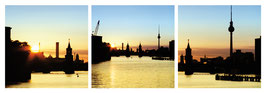 "Magnet Schlüsselbrett ""Berlin Skyline"""
