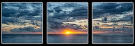 """Fotokunst Serie """"Sonnenuntergang"""""""