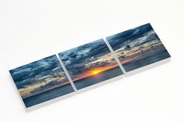 "Fotokunst Serie ""Gran Canaria Sonnenuntergang"""