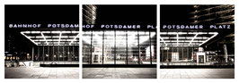 "Magnet Schlüsselbrett ""Berlin Potsdamer Platz"""