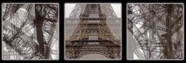 """Fotokunst Serie """"Paris Eiffelturm"""""""