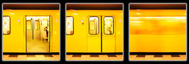 """Fotokunst Serie """"Berliner U-Bahn"""""""