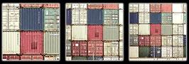 "Fotokunst Serie ""Barcelona Container"""