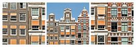 """Magnet Schlüsselbrett """"Amsterdam Fenster"""""""