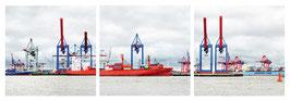 """Magnet Schlüsselbrett """"Hamburg Hafen"""""""