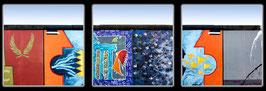 "Fotokunst Serie ""Berlin Eastside Gallery 2"""