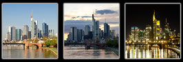 "Fotokunst Serie ""Frankfurt Skyline"""