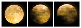 """Magnet Schlüsselbrett """"Mond"""""""