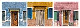 """Magnet Schlüsselbrett """"Venedig Türen"""""""