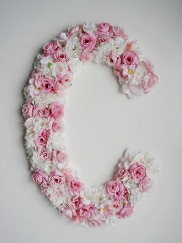 """Blumen Buchstabe """"Fairytale"""""""