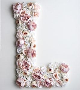 "Blumen Buchstabe ""Bohemian Blossom"""