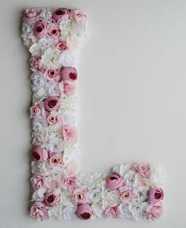 """Blumen Buchstabe """"Pastel Perfection 2"""""""
