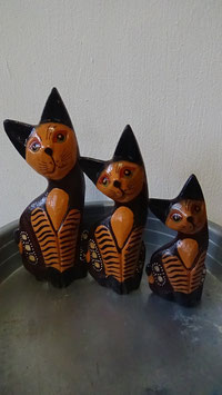 Katzenfamilie 3er-Set (5)