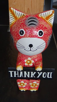 Katze 'Thank you'