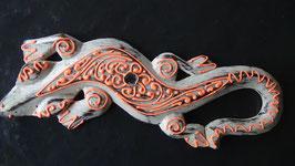 Gecko 43 (Weiss/Apricot)
