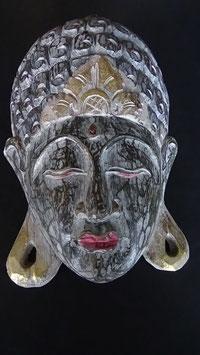 Buddha - Maske Gold / Olive