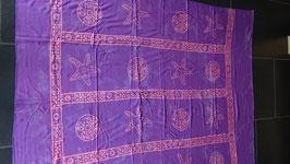Sarong (31) violett Muster