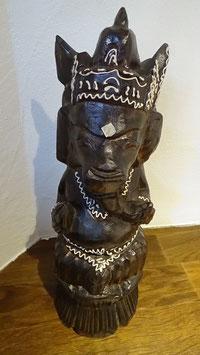 Ganesha / dunkelbraun/weiss