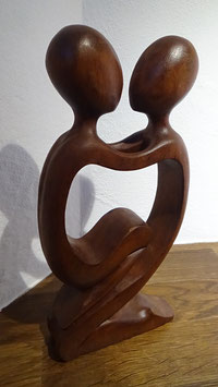 Abstract Figur 17 / Braun