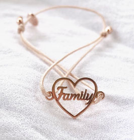 Armband FAMILY HEART |  Sterling Silber
