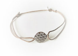 Armband BLUME DES LEBENS Mini klassisch |  Sterling Silber