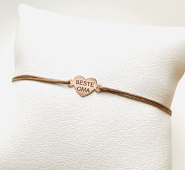 Armband BESTE OMA |  Sterling Silber