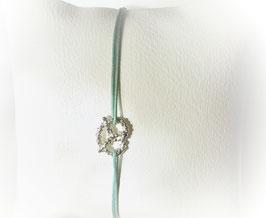 Armband BREZEL   Sterling Silber