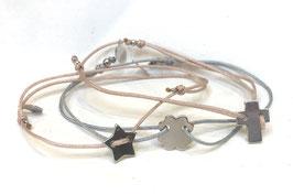 Armband mini-KREUZ    Sterling Silber