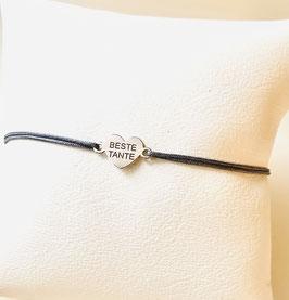 Armband BESTE TANTE |  Sterling Silber