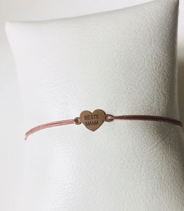 Armband BESTE MAMA |  Sterling Silber