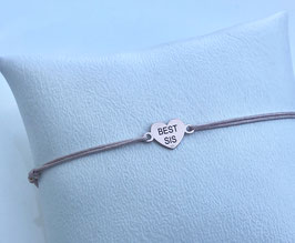 Armband LOVE YOU SIS |  Sterling Silber