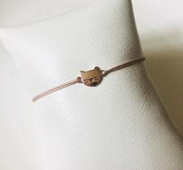 Armband HALLO MIEZE |  Sterling Silber