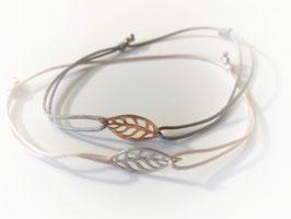 Armband BLATT      925 Sterling Silber