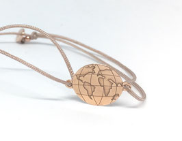 Armband Around the World |  Sterling Silber