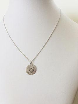 Halskette INFINITE MANDALA |  Sterling Silber