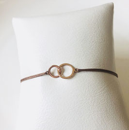 Armband TWO CIRCLES  | Sterling Silber