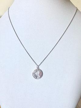 Halskette WELTKUGEL |  Sterling Silber