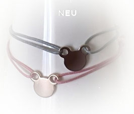 Armband MICKY die Maus |  Sterling Silber