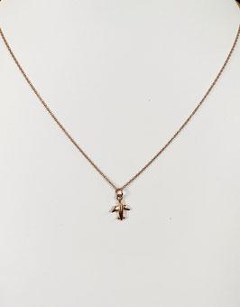 Halskette LITTLE PLANE|  Sterling Silber