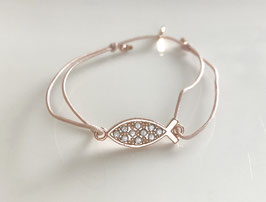 Armband ICHTYS crystal | Sterling Silber