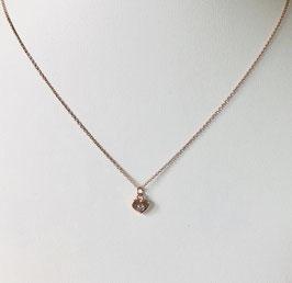 Halskette MINI CRYSTAL HEART |  Sterling Silber