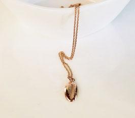 Halskette KAURI Muschel |  Sterling Silber