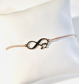 Armband INFINITY MUSIK | Sterling Silber