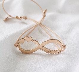 Armband INFINITY MAMA |  Sterling Silber